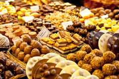 Auswahl der Schokolade Stockfoto