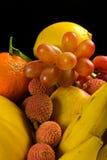 Auswahl der tropischen Früchte Stockfotografie