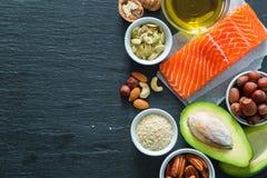 Auswahl von guten fetten saurces Lizenzfreie Stockbilder