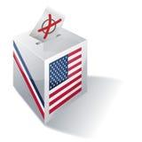 Auswahlrahmen USA Lizenzfreies Stockfoto