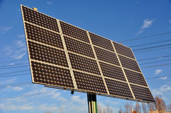 Auswechselbare Sonnenenergie lizenzfreie stockbilder