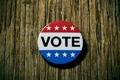 Ausweis für die Wahl Vereinigter Staaten Lizenzfreie Stockfotos