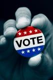 Ausweis für die Wahl Vereinigter Staaten Lizenzfreies Stockfoto