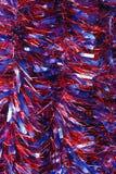 Auszug beleuchtet Filterstreifenweihnachtshintergrund Stockbild