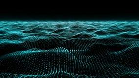 Auszug bewegt Hintergrund wellenartig technologie vektor abbildung