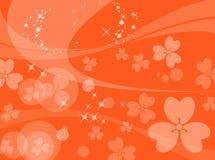 Auszug blüht Hintergrund Stockbild