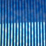 Auszug - blaue Zeilen stockfotos