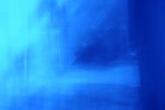 Auszug der blauen Leuchte Stockfoto