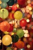 Auszug der farbigen Leuchten Lizenzfreie Stockfotos