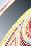 Auszug der gezeichneten Kunst mit leerem Streifen Lizenzfreies Stockfoto
