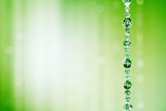 Auszug des blinden Kristalles Stockfotografie