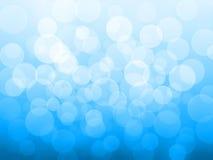 Auszug des bokeh Effektes auf Hintergrund stock abbildung
