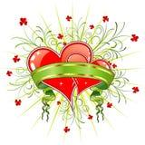 Auszug des Valentinsgrußes stock abbildung