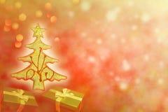 Auszug des Weihnachtsbaums Lizenzfreie Stockfotografie