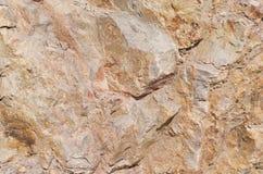 Auszug eines roten Berges Stockbild