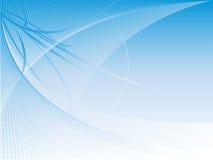 Auszug gebogener Hintergrund mit Exemplarplatz Lizenzfreie Stockfotografie