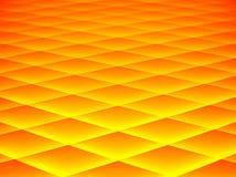 Auszug in Gelbem und in der Orange stock abbildung