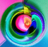 Auszug Kunst Anstrich graphik Abstraktion abbildung Lizenzfreie Stockbilder