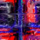 Auszug Kunst Anstrich graphik Abstraktion abbildung Lizenzfreies Stockbild