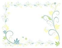 Auszug pflanzt Rahmen Stockfotografie