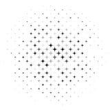 Auszug Stars Hintergrund vektor abbildung