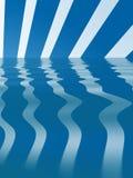 Auszug stripes Hintergrund Lizenzfreies Stockfoto