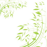Auszug zeichnet Blumenhintergrund Stockbilder