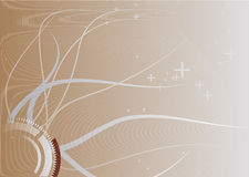 Auszug zeichnet Hintergrund Lizenzfreie Stockbilder