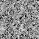 Auszug zeichnet nahtloses Muster. Lizenzfreie Stockfotografie