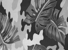 Auszugsblätter der Gummianlage. Stockfotos