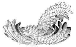 Auszugswellen vektor abbildung