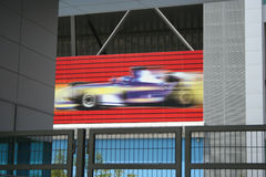 Autódromo de Dubai Imagen de archivo libre de regalías