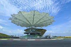Autódromo do circuito internacional de Sepang imagens de stock royalty free