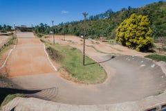 Autódromo Giba Gorge Venue da bicicleta de BMX imagem de stock