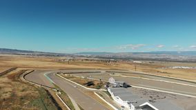 Autódromo no anel internacional do circuito de Rustavi Motorpark vídeos de arquivo