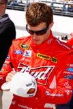 Autógrafos de assinatura de Kasey Kahne do excitador de NASCAR Imagens de Stock