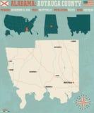 Autauga okręg administracyjny w Alabama usa Zdjęcia Royalty Free
