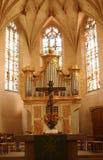 Autel d'église image stock