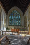 Autel d'église de St Danstan, Cranbrook photographie stock libre de droits