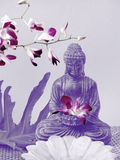 Autel de Bouddha Images libres de droits