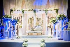 Autel de mariage photographie stock libre de droits