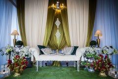 Autel de mariage Photos libres de droits