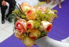 Autel de mariage Photo libre de droits