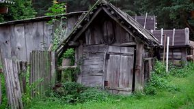 Autentic wiejski podwórze zdjęcie wideo
