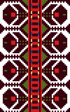 Autentisk bulgarisk prydnad 06 Arkivbilder