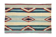 Autentisk handgjord turkisk matta Royaltyfria Bilder