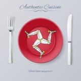 Autentisk kokkonst vektor illustrationer