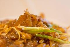 Autentisk kryddig kinesisk mat, closeup royaltyfri bild