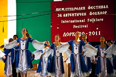 autentisk kulturfestival arkivbild