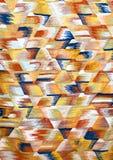 Autentisk moroccan mattbakgrund Royaltyfri Fotografi